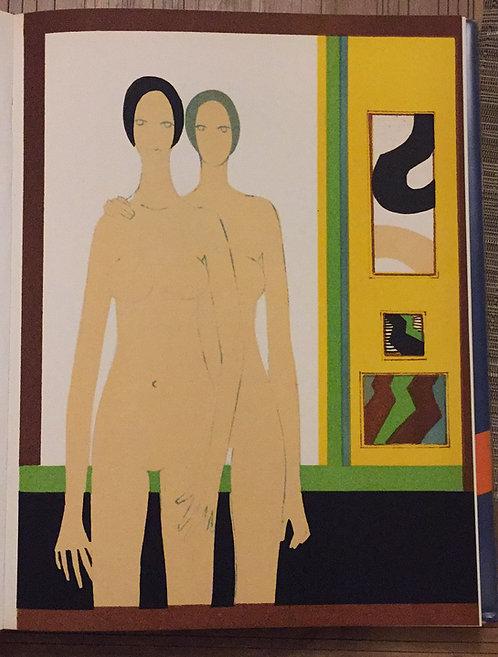Andre Minaux, Double, Original Lithograph
