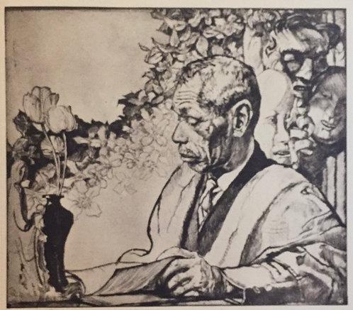 Frank Brangwyn, Portrait of Yamanaka