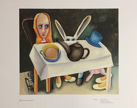 Charles Blackman, Feet Beneath the Table