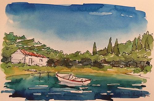 T Kapelina, Croatian Watercolour