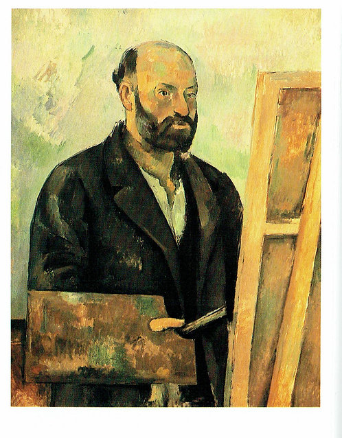 Marc Chagall, Self Portrait with Palette