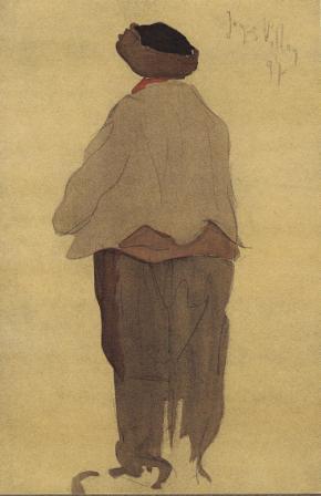 Jacques Villon, Le Bougnat