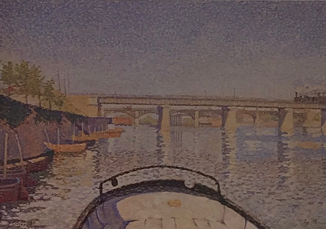 Georges Seurat, Bridge at Asnieres