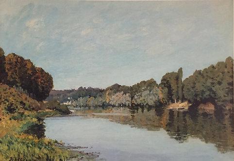 Alfred Sisley, La Seine at Bougival