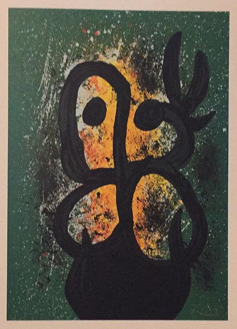 Joan Miro, Woman with Dove
