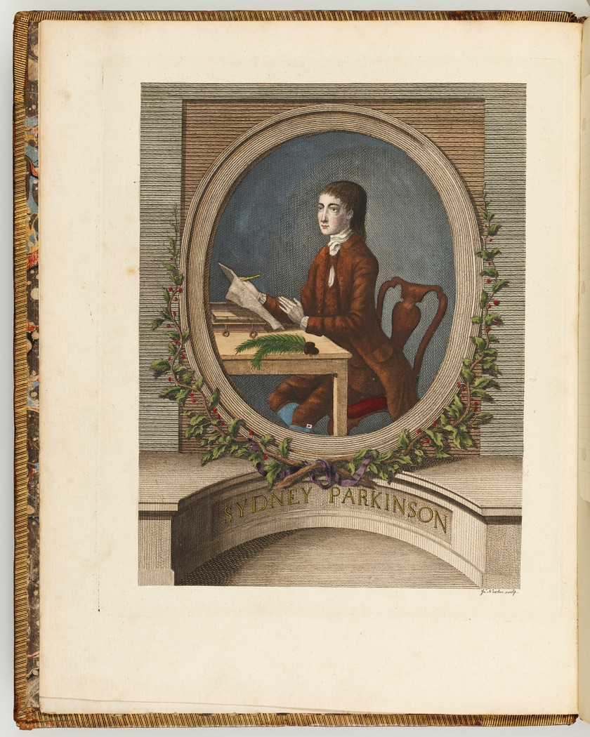 A journal of a voyage to the South Seas, in his Majesty's ship ... Sydney Parkinson, SLNSW