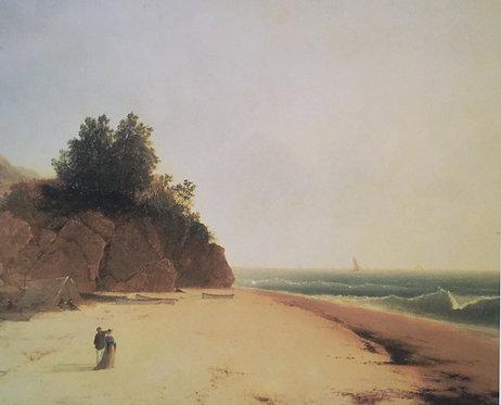 John Frederick Kensett, Coast Scene with Figures (detail) 1869