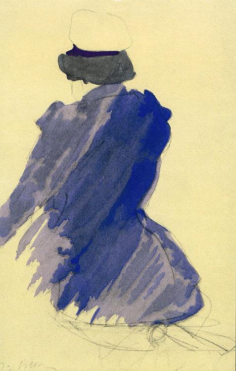 Jacques Villon,  Au bord de la mer