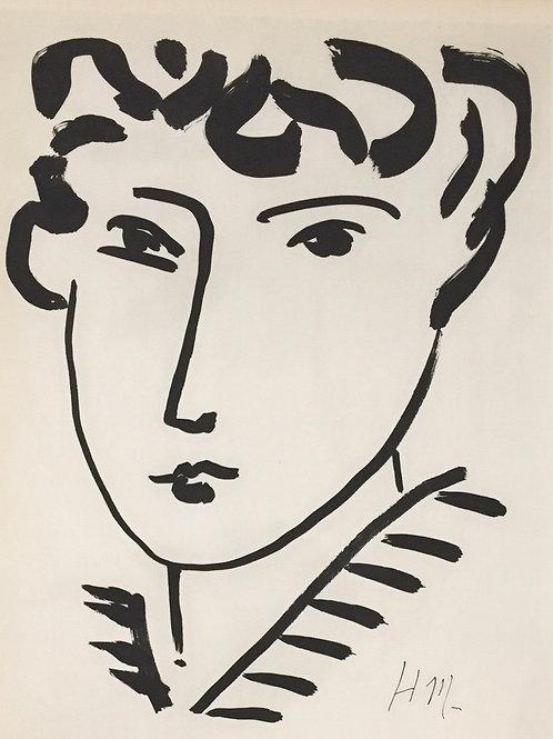 copy of Matisse - Monochrome Heliogravure Plates 129/130