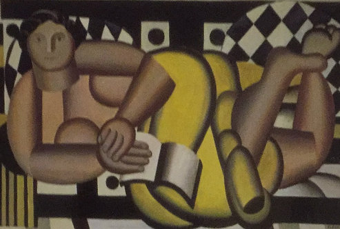 Fernand Leger, Reclining Figure