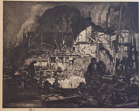 Frank Brangwyn, Old Hammersmith