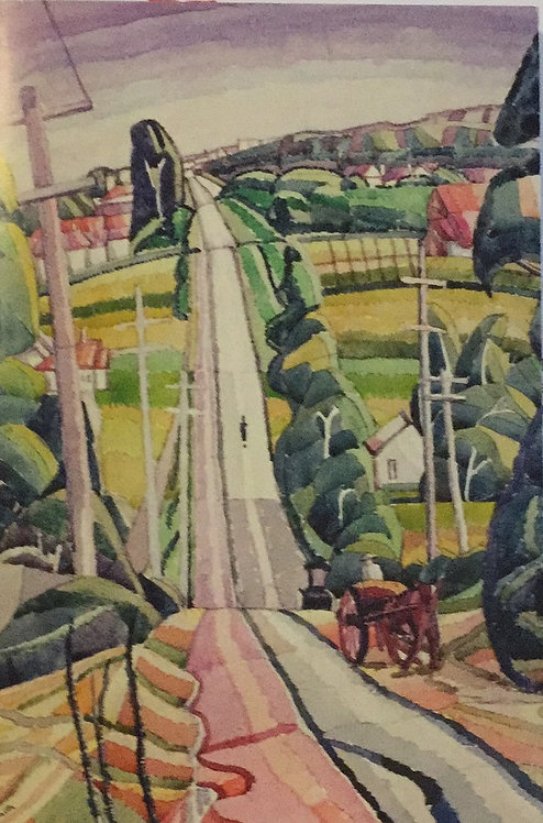 Grace Cossington Smith, Eastern Road, Turramurra