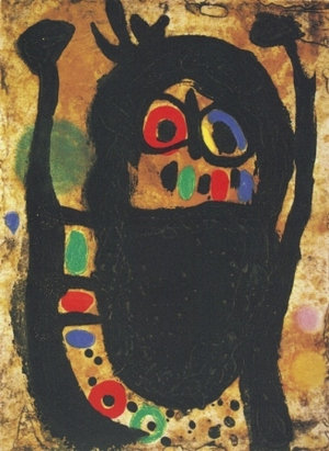 Joan Miro,Woman with Jewel