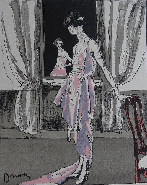 Gazette Du Bon Ton 1920 No 6 Pochoir Worth