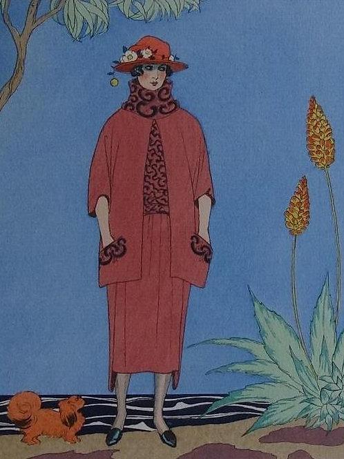 Gazette Du Bon Ton 1921 No 5 Pochoir Barbier