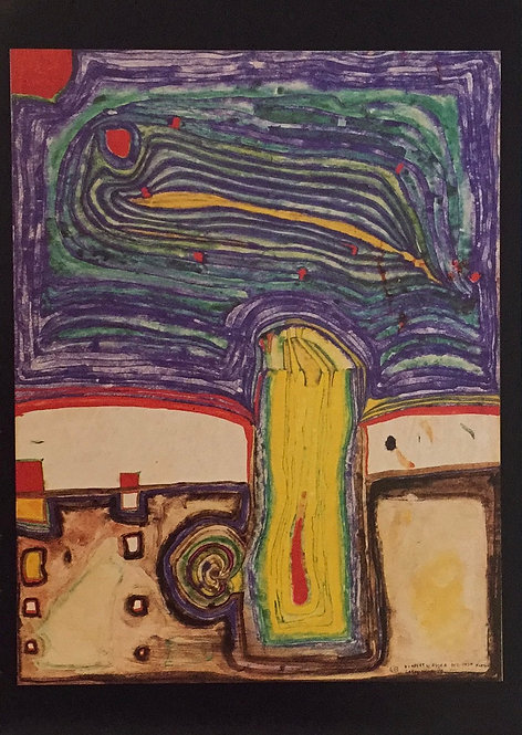 Hundertwasser, Tree of Rain