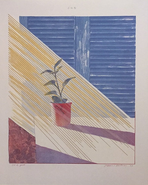 David Hockney, Sun From Weather Series