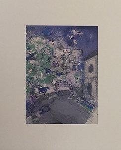 Marc Chagall - Mounted Print I