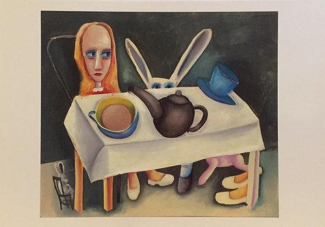 Charles Blackman, Feet Beneath the Table