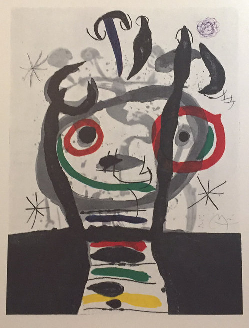 Joan Miro, The Sorcerer