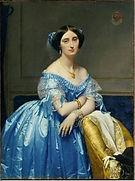 Jean Ingres, Princesse de Broglie, 1851 - 53