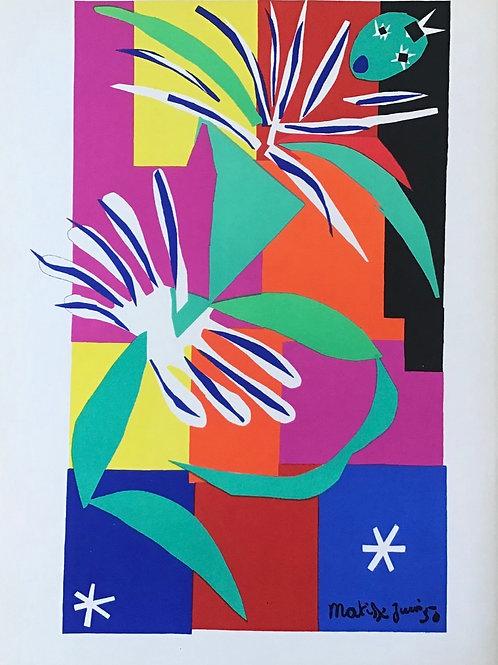 Matisse -  Lithograph - Danse Creole