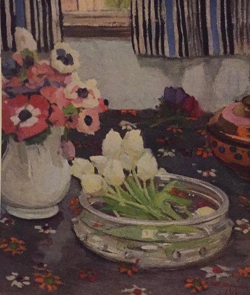 Margaret Preston, Anemones, 1916, 1927 reproduction