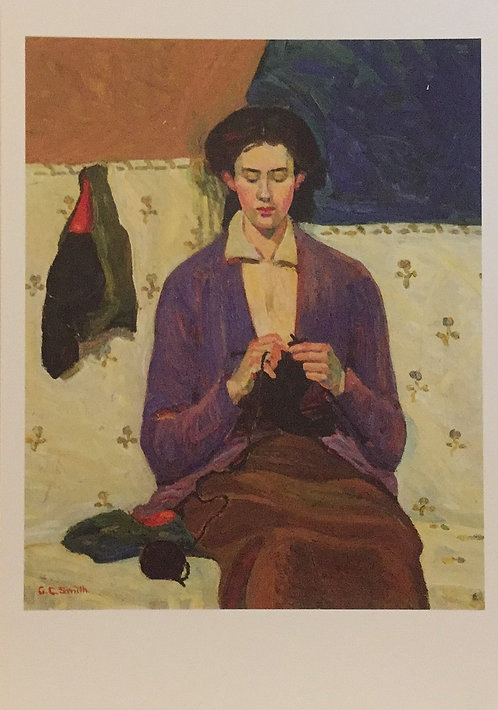 Grace Cossington Smith, The Sock Knitter