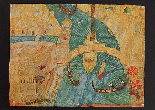 Hundertwasser, Venice Ponte Rialto