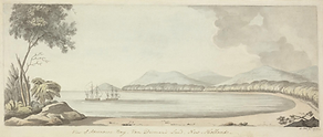 William Ellis, View of Adventure Bay, Va