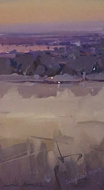Michael White, Evening Near Paringa