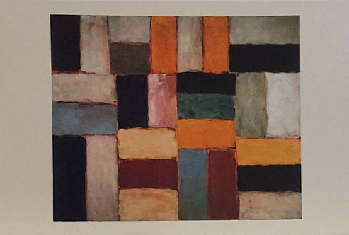 Sean Scully, Wall of light Desert Day