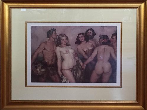 Norman Lindsay, Framed Print