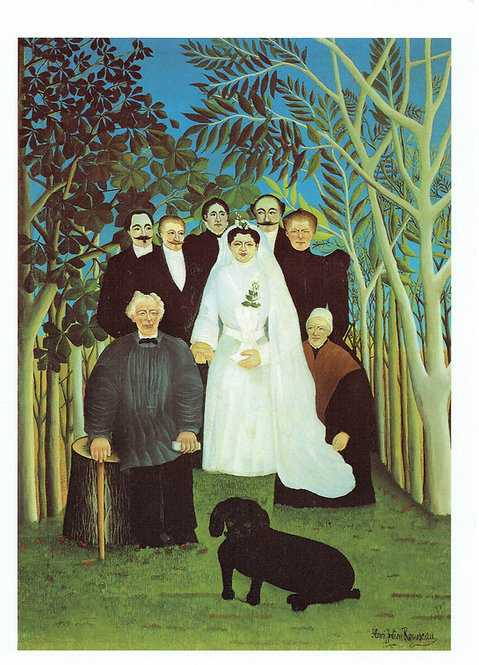 Henri Rousseau, The Wedding Party