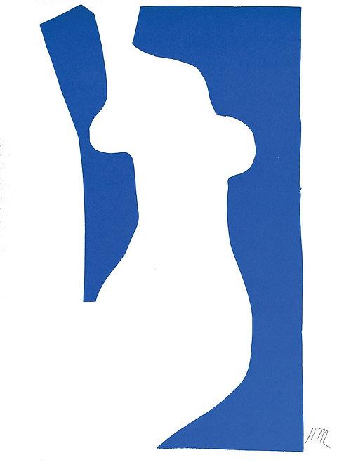 Matisse -  Lithograph - Nu Bleu VIII