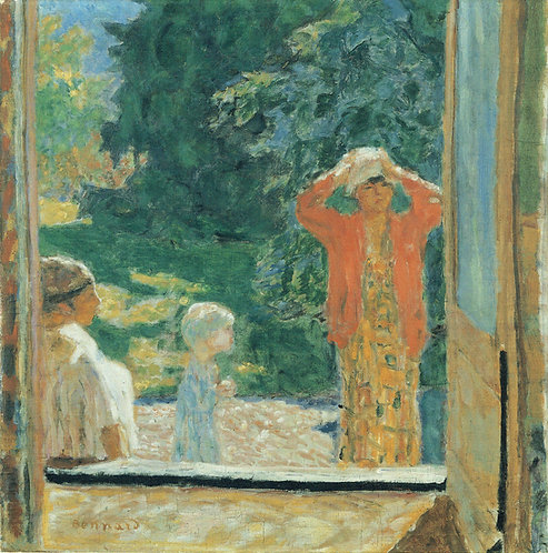 Pierre Bonnard, In Front of the Window at Le Grand Lemps