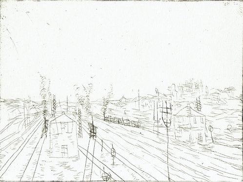 Paul Klee - Railroad Station