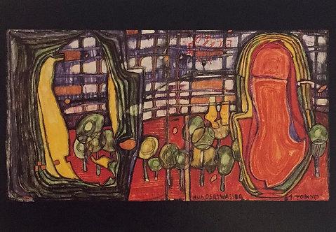 Hundertwasser, The Feet of Kaoru