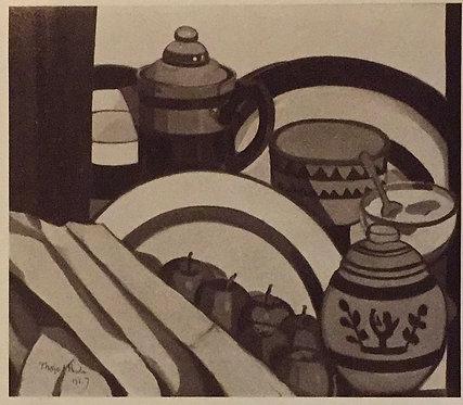 Margaret Preston, Still Life/Strehtzia, 1927 reproduction