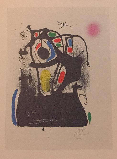 Joan Miro, The Hypnotist