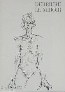 Alberto Giacometti lithograph