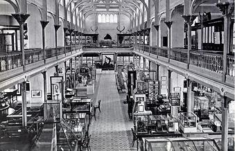 Interior of Museum 1873 - University of