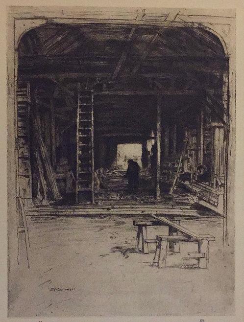 D Y Cameron, Robert Lee's Workshop