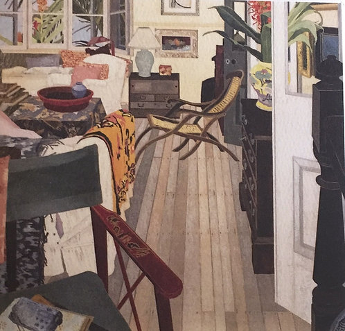 Cressida Campbell, Interior with Red Ginger