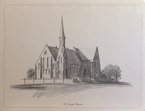 Tony Mason, St Josephs Church