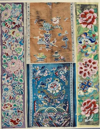 Broderies Chinoises  H. Ernst Paris 1922