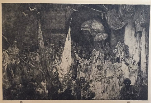 Marius Bauer, Entry of a Queen