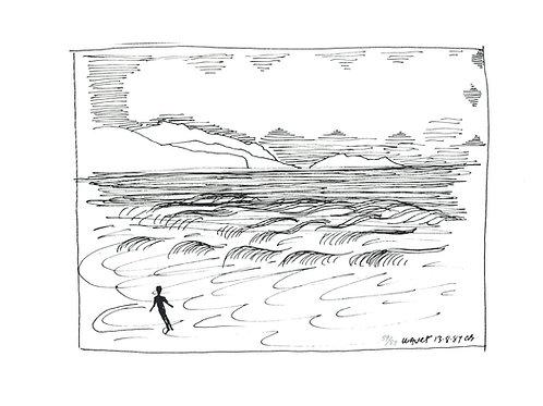 Charles Blackman, Waves