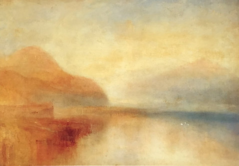 J. M. W. Turner, Inverary Pier, Loch Fyne: Morning