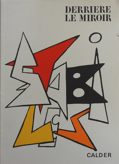 Calder - Cover - Original lithograph
